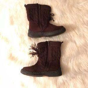 Michael Kors Knit Zip Girl's Boots